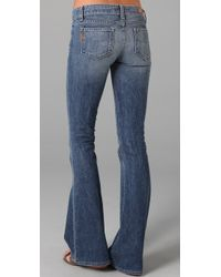PAIGE | Blue Bell Canyon Skinny Flare Jeans | Lyst