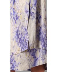 SUNO - Multicolor Detached Panels Skirt - Lyst