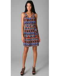 Marc By Marc Jacobs | Blue Frida Flag Print Dress | Lyst