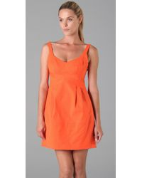 Nanette Lepore | Orange Vacationer Dress | Lyst