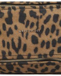 Givenchy - Multicolor Mini Leopard Print Pandora Bag - Lyst