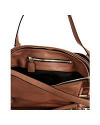 Chloé - Brown Nutmeg Calfskin Cary Zipper Satchel - Lyst