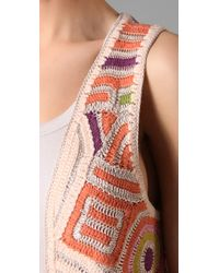 Twenty8Twelve - Brown Amelie Crochet Vest - Lyst