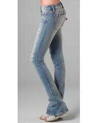 Joe's Jeans - Blue Chelsea Micro Flare Jeans - Lyst
