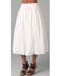 Dallin Chase - White Pio Skirt - Lyst