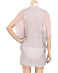 IRO - Pink Chorech Silk-chiffon Kaftan - Lyst