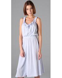 Textile Elizabeth and James | White Eva Dress | Lyst