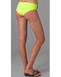 VPL - Yellow Compression Bikini Bottoms - Lyst