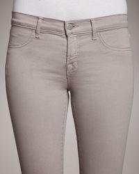 J Brand - Gray 901 Vintage Wild Rose Leggings - Lyst