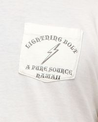 Lightning Bolt - White Pocket Pure Source Hawaii for Men - Lyst