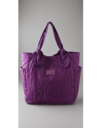 Marc By Marc Jacobs | Purple Pretty Nylon Medium Tate | Lyst