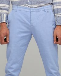 Penny Stock | Blue Spring Clean Pant for Men | Lyst