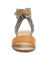 See By Chloé | Brown - Multi-colored Braided Flat Sandal | Lyst