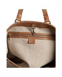 Gucci - Brown Beige Gg Canvas Marrakech Tote - Lyst
