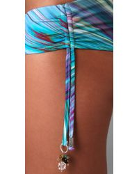 OndadeMar   Blue Sea Of Atlas Bikini Bottoms   Lyst