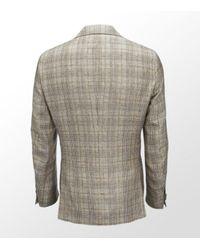 Etro | Brown Classic Plaid Blazer for Men | Lyst