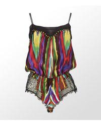 Jenny Packham | Multicolor Ikat Print Teddy | Lyst
