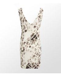 Just Cavalli | Multicolor Leopard Bias-cut Dress | Lyst