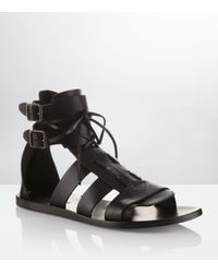 Kurt Geiger | Black Beck Sandals for Men | Lyst