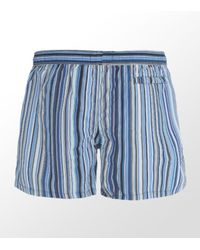 Paul Smith | Blue Classic Multi Stripe Swim Shorts for Men | Lyst