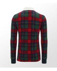 Ralph Lauren | Red Tartan Polo Shirt for Men | Lyst