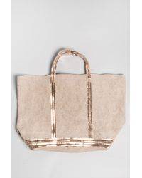 Vanessa Bruno | Natural Grand Canvas Bag in Sable | Lyst
