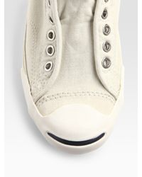 Converse - White Lux Jack Purcell Sneakers - Lyst