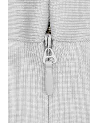 Hervé Léger | White Estrella Sleeveless Gown | Lyst