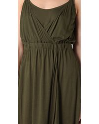 Theory | Green Lansolyn Dress | Lyst