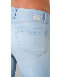 Goldsign - Blue Fancy Wide Leg Jeans - Lyst