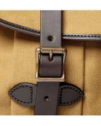Filson | Brown Cotton Canvas Field Messenger Bag for Men | Lyst