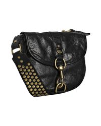 Rebecca Minkoff | Black Lust Studded Leather Crossbody Bag | Lyst