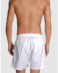 Brooks Brothers | White Boxers for Men | Lyst