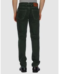 Incotex | Green Casual Trouser for Men | Lyst