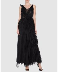 Marc Jacobs | Black Lace-trim Slip Dress | Lyst