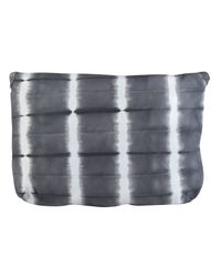 Sammy Ethiopia - Gray Tie Dye Leather Clutch Bag - Lyst