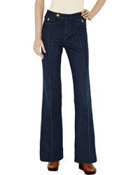 Twenty8Twelve - Blue Jack High-rise Wide-leg Jeans - Lyst
