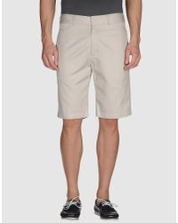 Woolrich | Natural Reversible Shorts for Men | Lyst