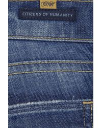 Citizens of Humanity | Blue Phantom Jean with Zipper | Lyst