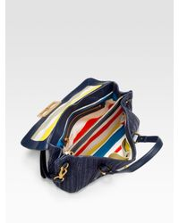 Marc By Marc Jacobs | Blue Bianca Dreams Straw Bag | Lyst