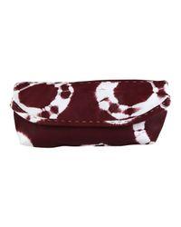 Sammy Ethiopia | Purple Burgundy Chu Chu Tie Dye Clutch Bag | Lyst