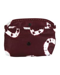 Sammy Ethiopia - Purple Burgundy Chu Chu Tie Dye Clutch Bag - Lyst