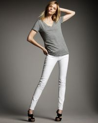 Citizens of Humanity | White Thompson Santorini High-rise Skinny Jeans | Lyst