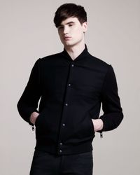 Givenchy | Black Varsity Jacket for Men | Lyst