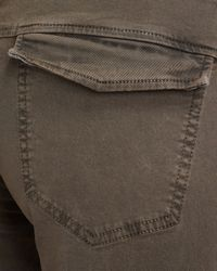 J Brand   Brown Agnes Worn Hickory Motorcycle Pants   Lyst