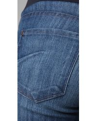 James Jeans | Blue Billie Crop Maternity Jeans | Lyst