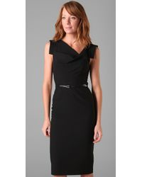 Black Halo | Black Classic Jackie O Dress | Lyst