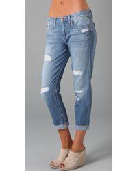Joe's Jeans | Blue Rolled Best Friend Jeans | Lyst