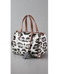 L.A.M.B. | Multicolor Snow Leopard Chapelton Bag | Lyst