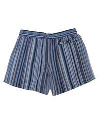 Paul Smith - Blue Classic Stripe Swim Short for Men - Lyst